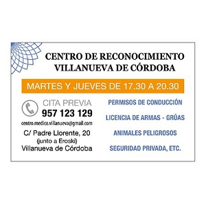 Logo Centro de Reconocimiento Villanueva de Crdoba