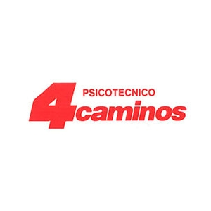 Logotipo Psicotecnico 4 Caminos