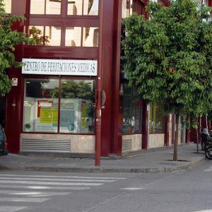 Logotipo Centro de peritaciones medicas Perihispalis