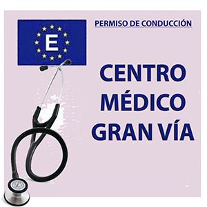 Logotipo Centro Médico-Psicotécnico Gran Vía