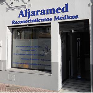 Logotipo Aljaramed Reconocimientos Médicos