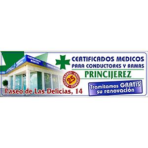 Logotipo Centro de Reconocimientos Medicos Princijerez