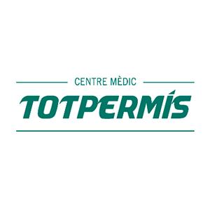 Logotipo Centre mèdic Totpermís Sants Hostafrancs