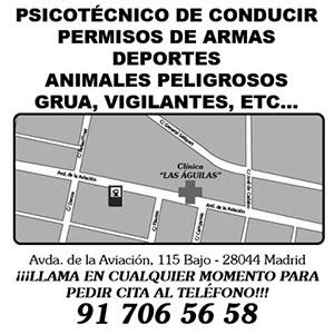 Logotipo Clinica de reconocimientos médicos Las Aguilas