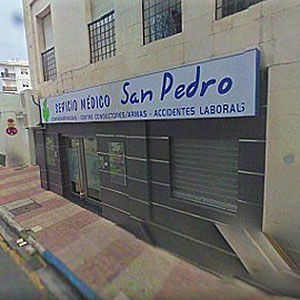 Logotipo Servicio Médico San Pedro