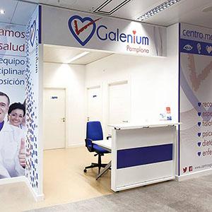 Logotipo Galenium Pamplona