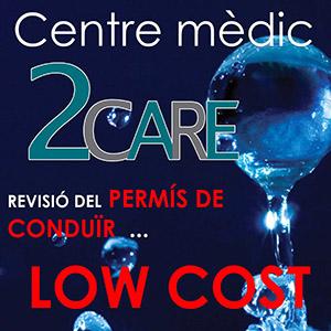 Logotipo Centro Médico 2care