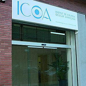 Logotipo Centro médico ICOA