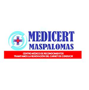 Logotipo Medicert MasPalomas (San Bartolomé de Tirajana)
