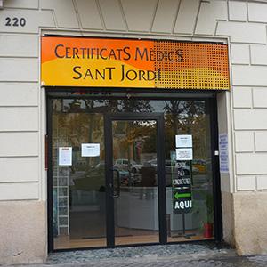 Logotipo Certificats Medics Sant Jordi