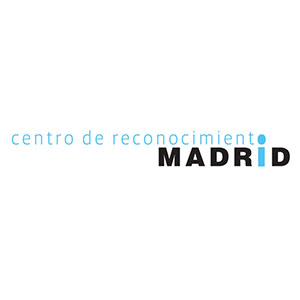 Logotipo Centro de Reconocimientos MADRID