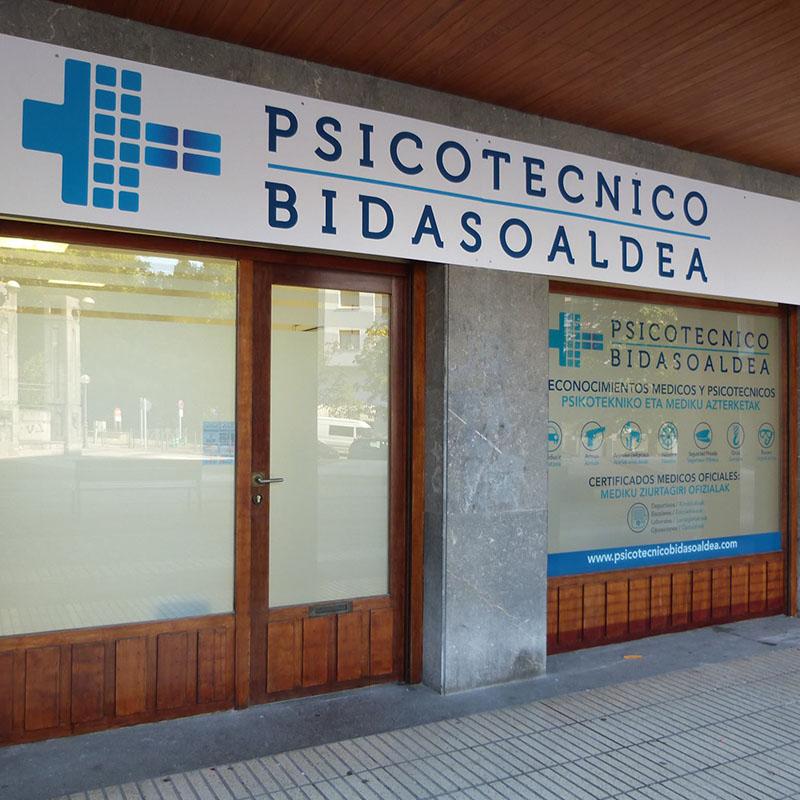 Logotipo Psicotecnico BIDASOALDEA
