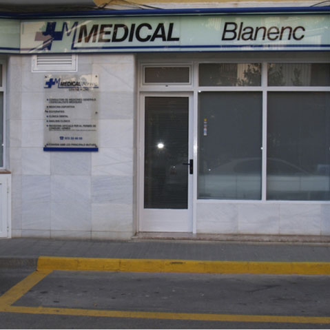 Logotipo Medical BLANENC