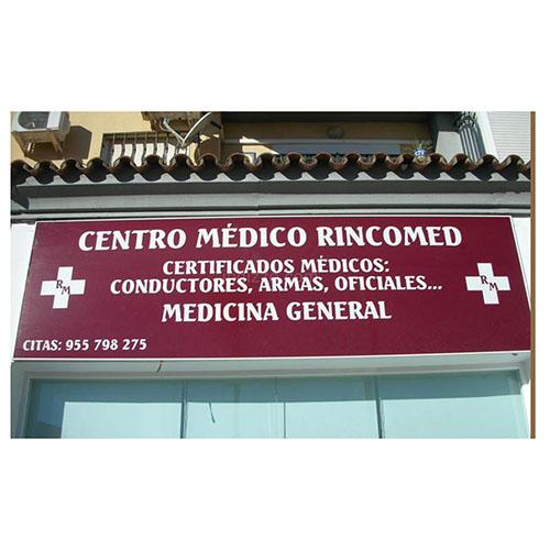 Logotipo Centro medico Rincomed