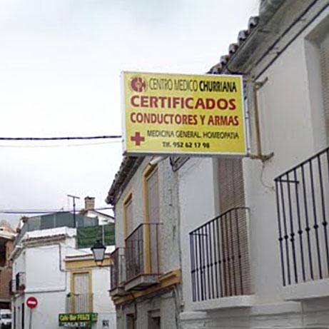 Logotipo Centro Médico Churriana