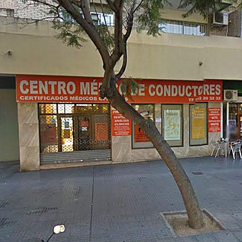 Logotipo Centro médico de conductores El Palo