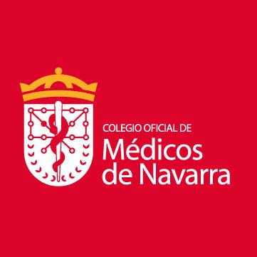 Logotipo Colegio Oficial de Médicos de Navarra