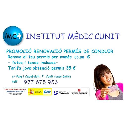 Logotipo Institut Mèdic Cunit
