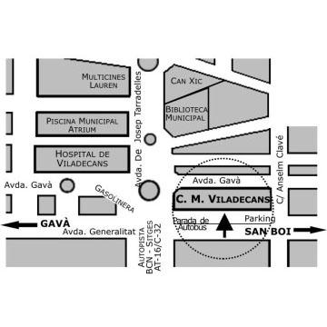 Logotipo Centro Médico Viladecans