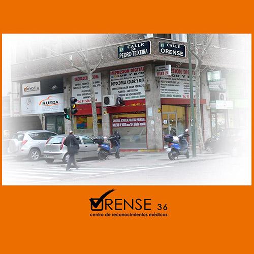 Logotipo Centro Médico Orense 36