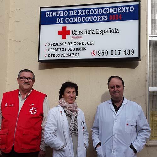 Logotipo Centro Conductores Almería (Cruz Roja)