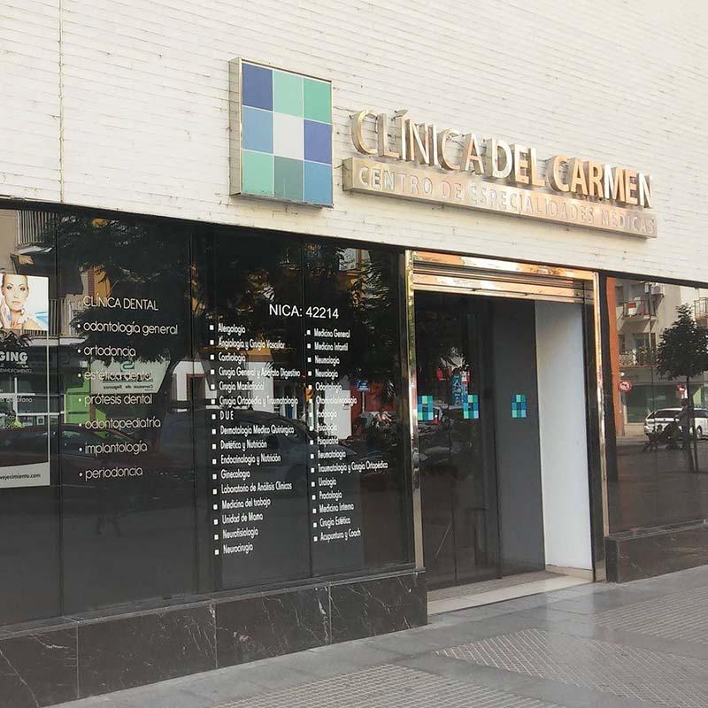 Logotipo CRC Clínica del Carmen