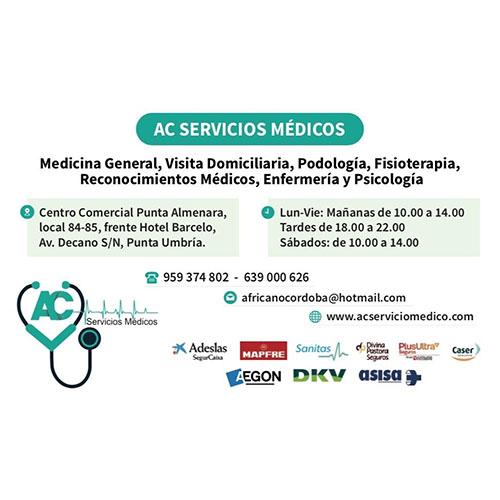 Logotipo AC Servicios Médicos de Punta Umbría
