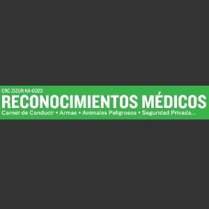Logotipo Reconocimientos Médicos Zizur