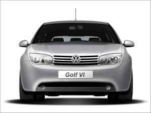 Antigua recreación del VW Golf 6